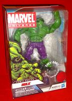 Marvel Universe: Exclusive Comic Series with Light-Up Base Hulk